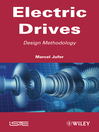 Electric Drive (eBook): Design Methodology