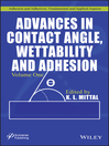 Advances in Contact Angle, Wettability and Adhesion (eBook)