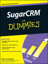 SugarCRM For Dummies® (eBook)