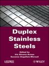 Duplex Stainless Steels (eBook)
