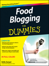Food Blogging For Dummies (eBook)