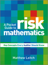 A Pocket Guide to Risk Mathematics (eBook): Key Concepts Every Auditor Should Know