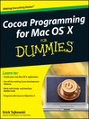 Cocoa Programming for Mac OS X For Dummies® (eBook)