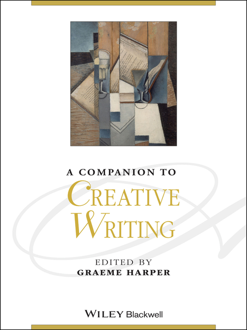 A Companion to Creative Writing (eBook)