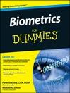 Biometrics For Dummies® (eBook)