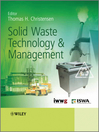 Solid Waste Technology and Management (eBook)