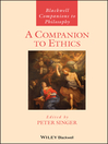 A Companion to Ethics (eBook)