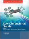 Low-Dimensional Solids (eBook)