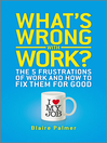 What's Wrong with Work (eBook): The 5 Frustrations of Work and How to Fix them for Good