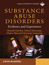 Substance Abuse Disorders (eBook): Evidence and Experience