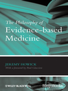The Philosophy of Evidence-based Medicine (eBook)