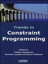 Trends in Constraint Programming (eBook)
