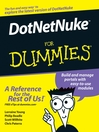 DotNetNuke For Dummies (eBook)