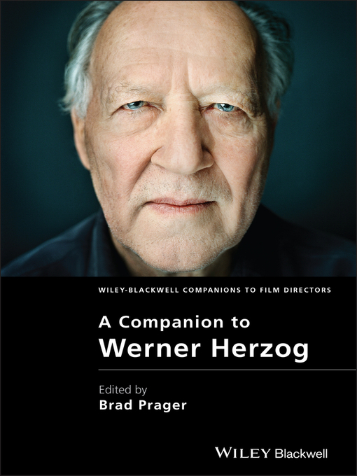 A Companion to Werner Herzog (eBook)