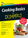 Cooking Basics For Dummies (eBook)