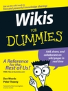 Wikis For Dummies (eBook)