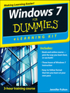 Windows 7 eLearning Kit For Dummies (eBook)