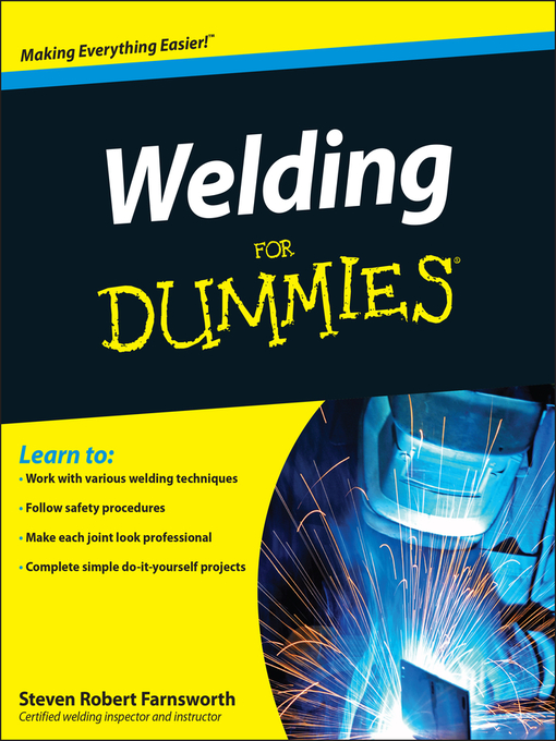 Welding For Dummies (eBook)