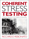 Coherent Stress Testing (eBook): A Bayesian Approach to the Analysis of Financial Stress