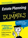 Estate Planning For Dummies (eBook)