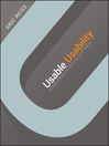Usable Usability (eBook): Simple Steps for Making Stuff Better
