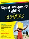 Digital Photography Lighting For Dummies (eBook)