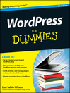 WordPress For Dummies (eBook)