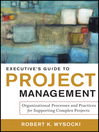 Executive's Guide to Project Management (eBook): Organizational Processes and Practices for Supporting Complex Projects