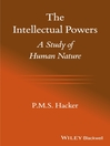 The Intellectual Powers (eBook): A Study of Human Nature