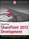 Beginning SharePoint 2013 Development (eBook)