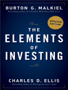 The Elements of Investing (eBook): Easy Lessons for Every Investor