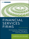 Financial Services Firms (eBook): Governance, Regulations, Valuations, Mergers, and Acquisitions