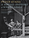 A Social History of Knowledge II (eBook): From the Encyclopaedia to Wikipedia
