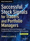 Successful Stock Signals for Traders and Portfolio Managers (eBook): Integrating Technical Analysis with Fundamentals to Improve Performance