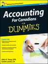 Accounting For Canadians For Dummies (eBook)