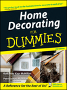 Home Decorating For Dummies (eBook)