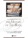A Companion to the History of the Book (eBook)