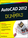 AutoCAD 2012 For Dummies (eBook)