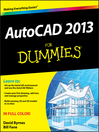 AutoCAD 2013 For Dummies (eBook)