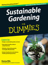 Sustainable Gardening For Dummies (eBook)