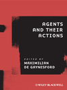 Agents and Their Actions (eBook)