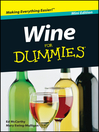 Wine For Dummies (eBook)
