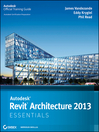 Autodesk Revit Architecture 2013 Essentials (eBook)