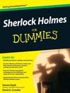 Sherlock Holmes For Dummies (eBook)