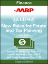 AARP JK Lasser's New Rules for Estate and Tax Planning (eBook)