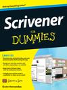 Scrivener For Dummies (eBook)