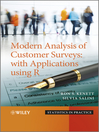 Modern Analysis of Customer Surveys (eBook): with Applications using R