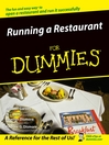 Running a Restaurant For Dummies (eBook)