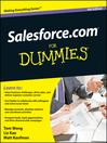 Salesforce.com For Dummies (eBook)