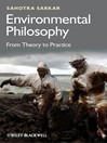 Environmental Philosophy (eBook): From Theory to Practice
